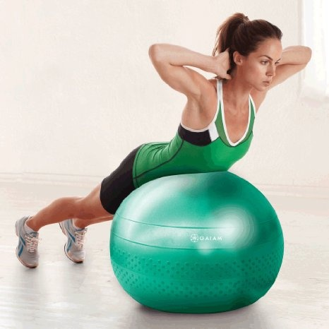 Gaiam Total Body Balance Ball Kit (65cm): Health & Personal Care #exercise #fitness #weightloss