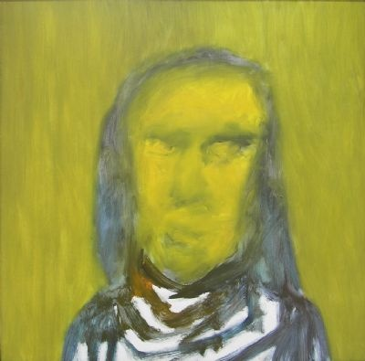 Sidney Nolan, Untitled (Convict), 1964, Oil on Board, 122 x 122 cm