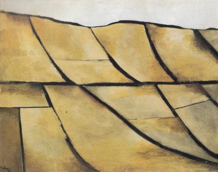 Colin McCahon, North Otago Landscape, 1951