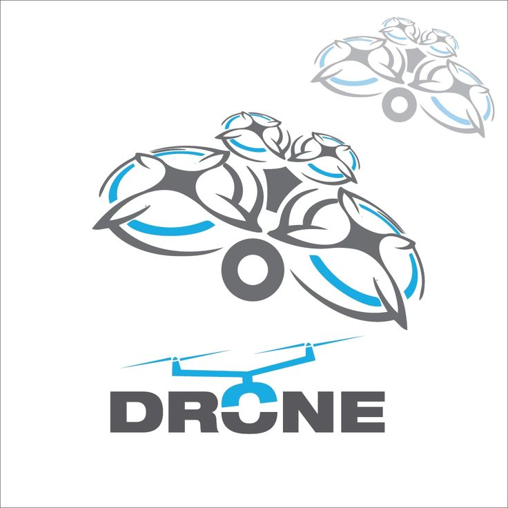 Drone concept 6 concept designed in a simple way so it can be used for multiple purposes i.e. logo ,mark ,symbol or icon.