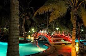 Puente sobre la piscina en el hotel Sol Sirenas Coral Varadero Cuba