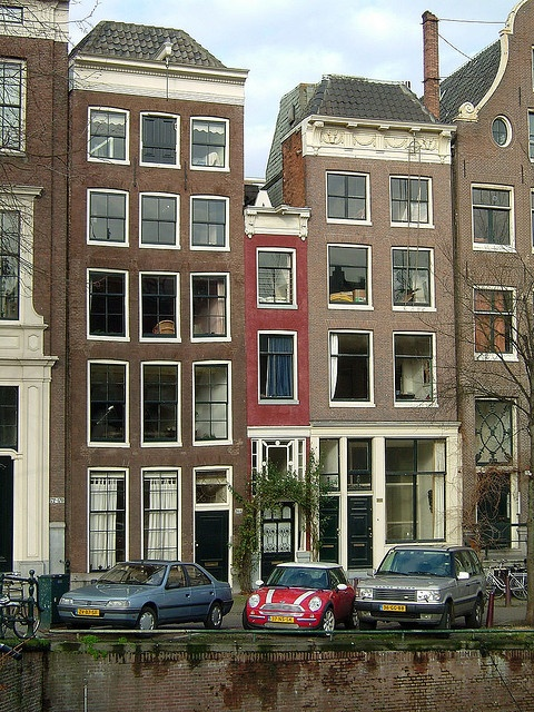Amsterdam's Skinniest House.