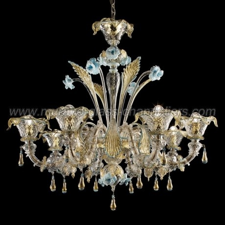 Best 25 24k gold murano glass chandeliers ideas on pinterest primavera murano glass chandelier aloadofball Image collections