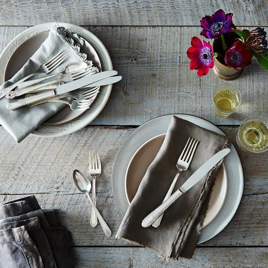 This year, resolve to dinner party more. Get your table setting sorted with this vintage silver-plated eclectic flatware.