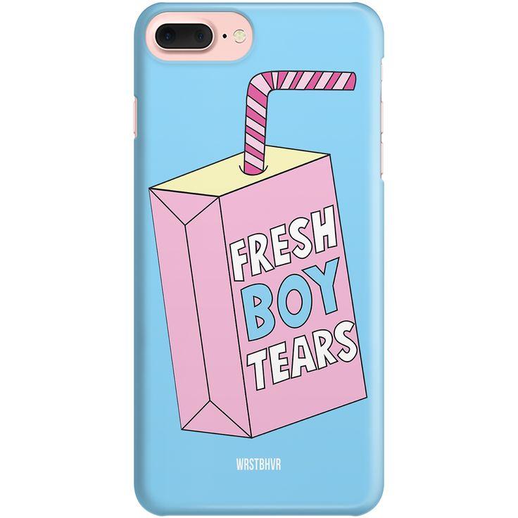 Fresh Boy Tears Case Lightblue. Schutzhülle Für  SmartphonesHartplastikAbbildung ...