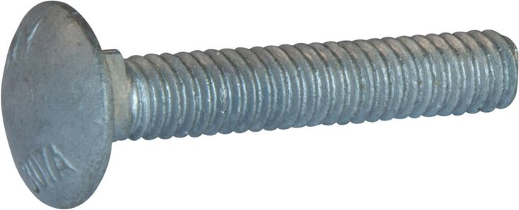 1/2-13 x 7 A307 Grade A Carriage Bolt HDG