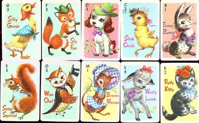 Vintage Rummy Cards