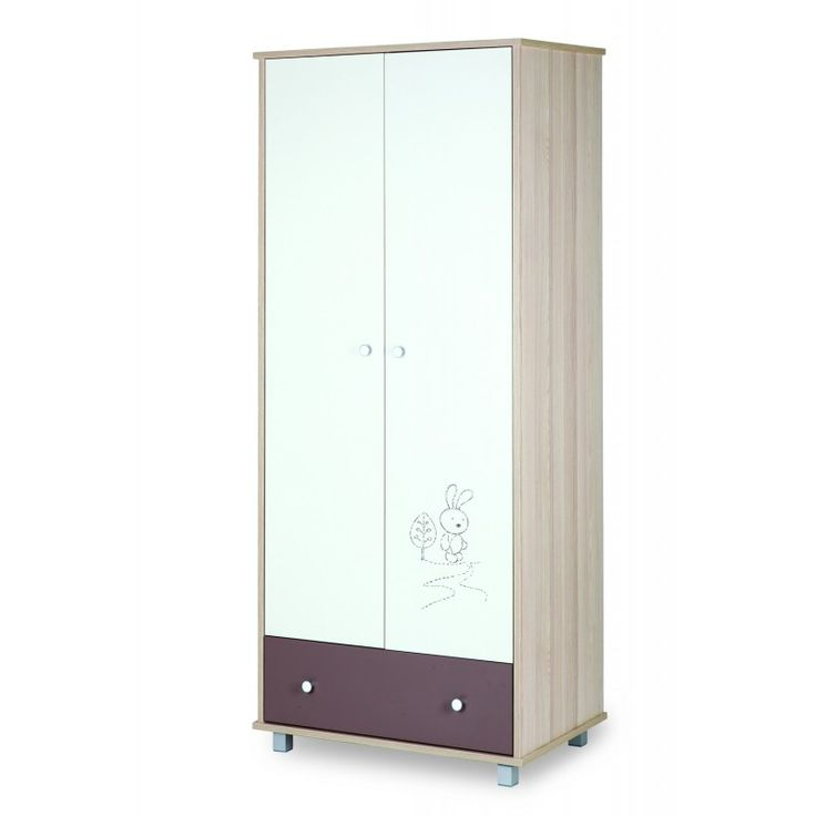 Armoire deux portes collection Lapin
