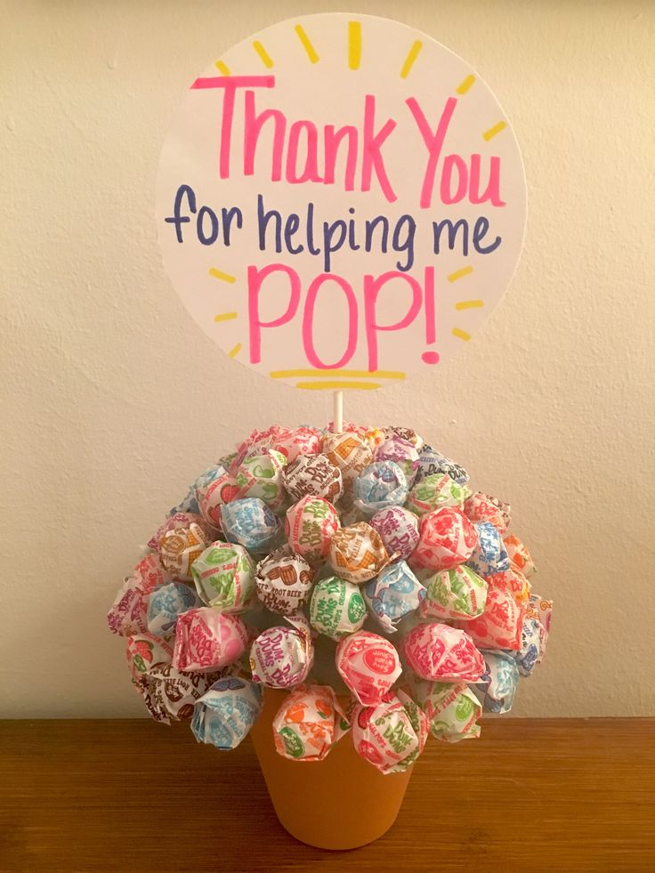 Thank you for helping me pop! Gift for labor and delivery nurses