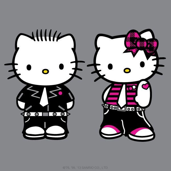 Hello Kitty And Her Boyfriend