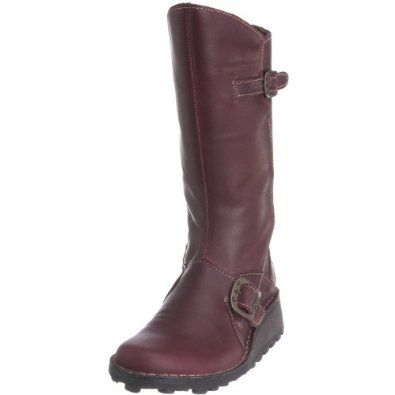 Fly london Mes Purple Womens New Cheap Winter Boots Shoes,