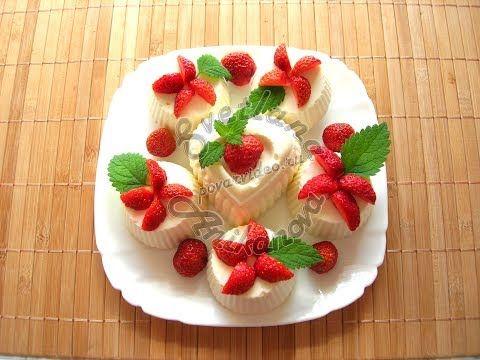 Кокосовые пирожные без выпечки - YouTube