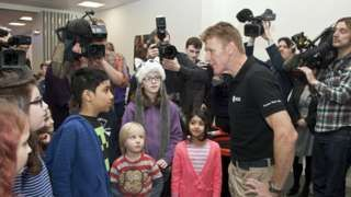 From BBC News - Astronaut Tim Peake opens Stevenage science centre http://wp.me/p7aCDO-dgR
