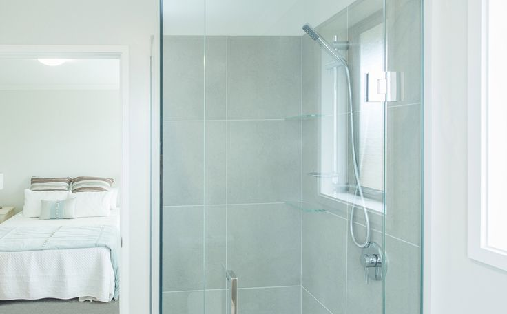 Shower in the ensuite for the master bedroom.