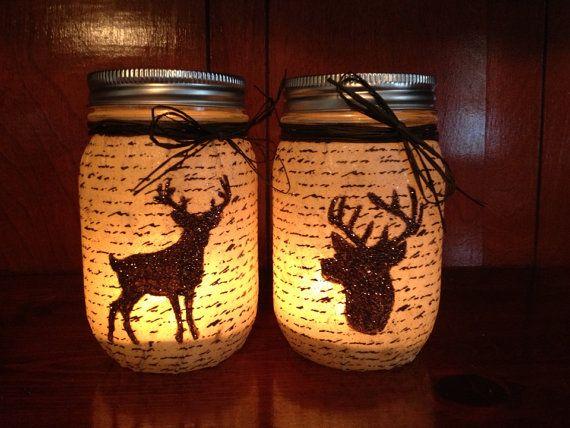 Deer Love Anniversary or Wedding Date Frame by RusticRoost on Etsy