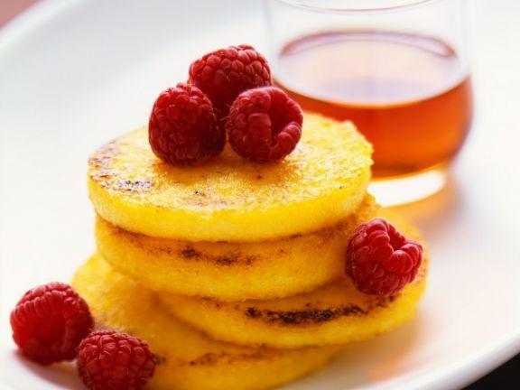 Polentataler ist ein Rezept mit frischen Zutaten aus der Kategorie Pfannkuchen. Probieren Sie dieses und weitere Rezepte von EAT SMARTER!