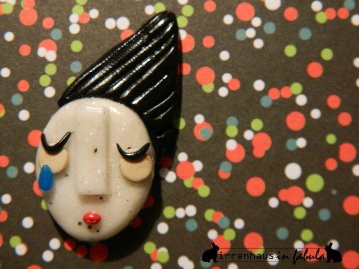 Eurydice - Handmade with polymer clay