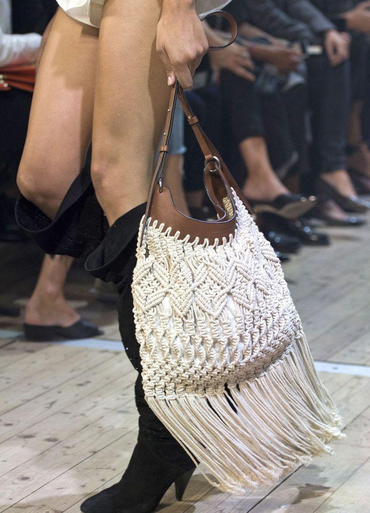 Taschen-Trend: Makramee-Taschen im Frühjahr/Sommer 2019 – Harper's Bazaar Germany