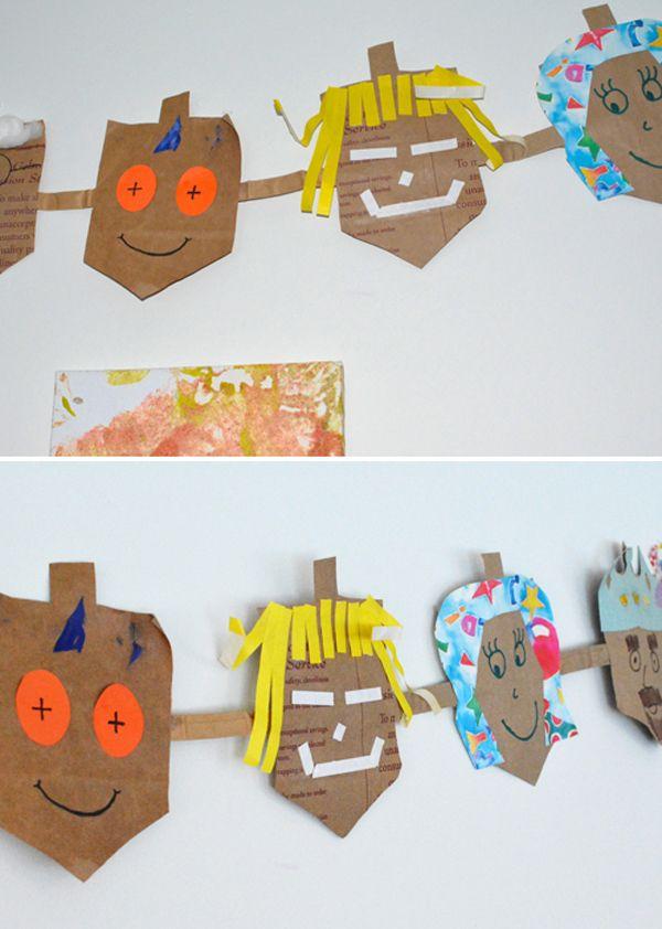 81 best hanukkah crafts preschool hebrew school images on for Hanukkah crafts for kindergarten