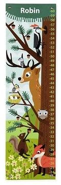Wildlife Growth Chart - contemporary - nursery decor - The Land of Nod
