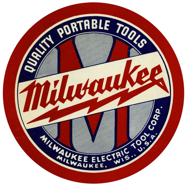 1940 Milwaukee Electric Tool Corporation Vintage Logo