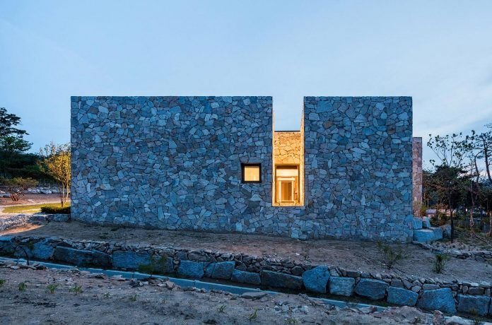 Stone-walled house designed in order to maintain residents' privacy - Page 2 of 2 - CAANdesign | Architecture and home design blog