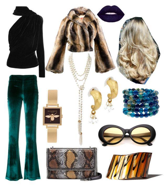 """Vintage Luxury"" by hellenrose7292 on Polyvore featuring STELLA McCARTNEY, Chanel, Vivienne Westwood, Olivia Burton, Gareth Pugh, Galvan, Gurhan, Savvy Cie and vintage"
