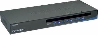 TRENDnet TK-803R 8-Port Rack Mount USB PS2 KVM Switch w-o Cable