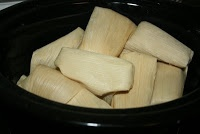 YES!  I don't need a steamer! How to make tamales in the crock pot!