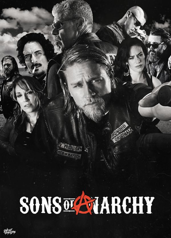 Sons of Anarchy Poster on Behance