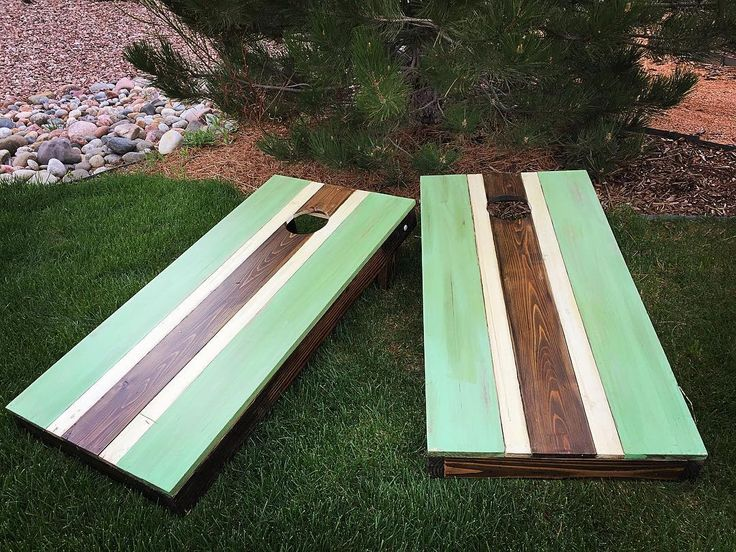 its finally warm enough here in co to start thinking about yard games again cornhole customdiy cornholecornhole designscornhole ideaswooddesign - Cornhole Design Ideas