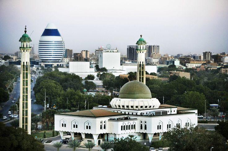 african cities | Khartoum, Sudan's capital city, North Africa