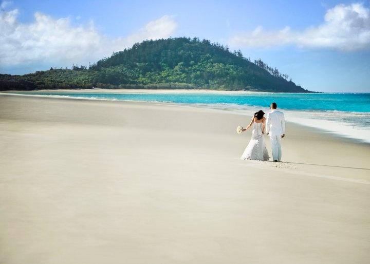 Hamilton Island Beach Wedding