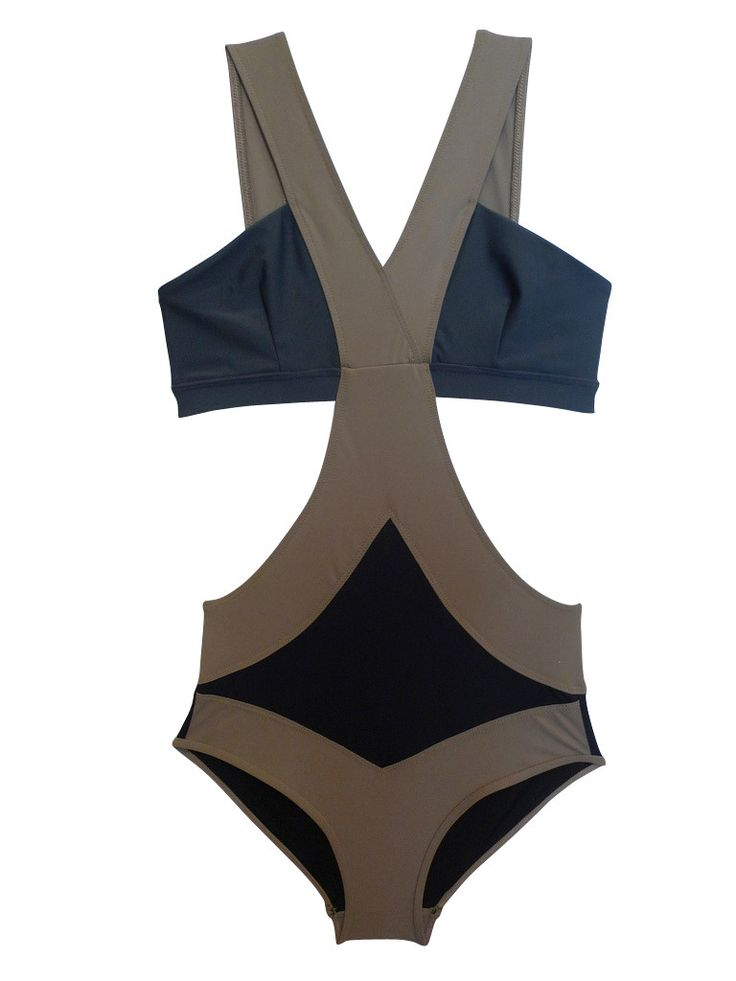 Fabulous monokini, love that the brief part goes up high enough to not create love handles!