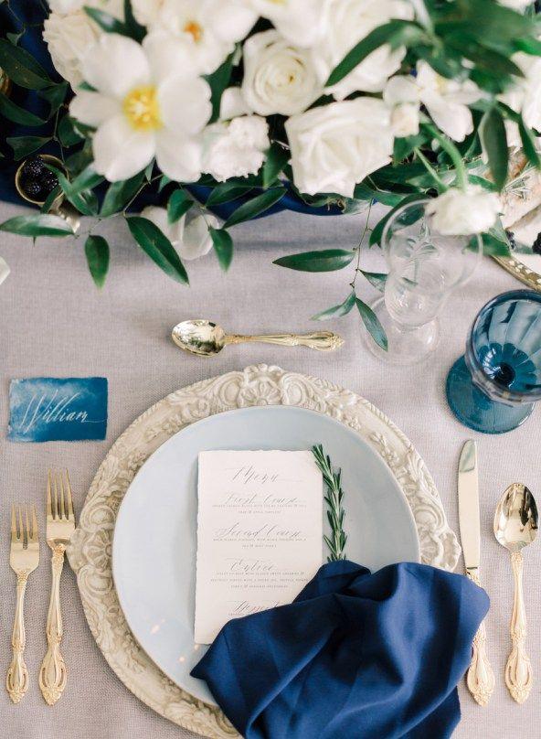 Modern Renaissance Wedding Inspiration | Harding Waterfront Estate | photo by: ARTIESE