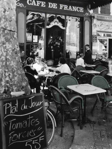 Cafe de France, Paris.