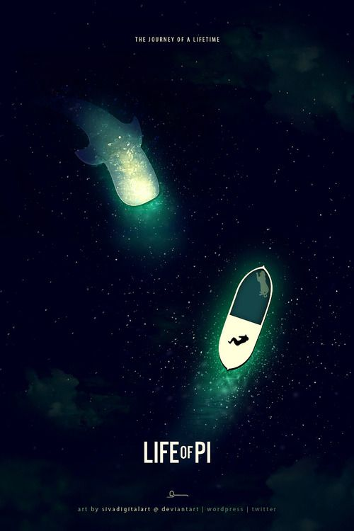 Life of Pi - movie poster - Sivakumar