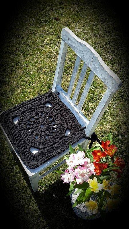 crochet chair pads crochet cotton chair pads chair cover kitchen chair pads