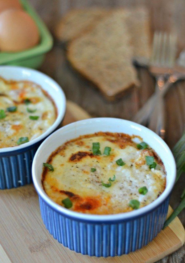 Marinara and Parmesan Baked Eggs | 21 Toaster Oven Recipes You Can Make In 15 Minutes Or Less