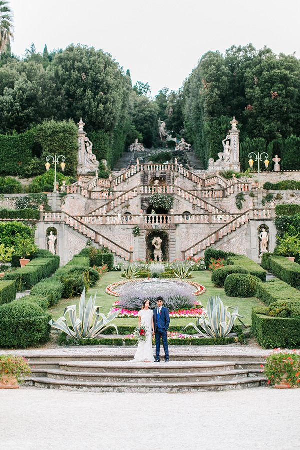 Clical Garden At An Italian Palace Maria Lamb Photography Gracious Villa Wedding In The