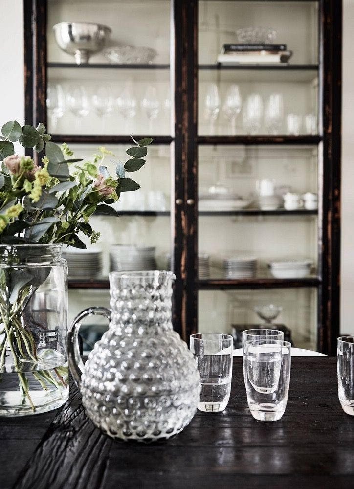 Elegant glassware is an essential of every home.