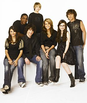 Logan,Lola,Quinn,Chase,Michael,Zoey,& Dustin. Matthew Underwood,Victoria Justice, Erin Sanders, Sean Flynn, Jamie Lynn Spears, Paul Butcher. And I don't know who the star is who plays Michael.