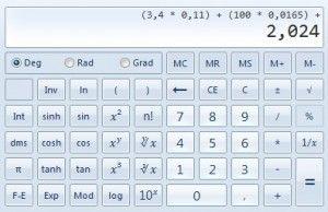 So berechnen Sie die Punkte selbst                              …