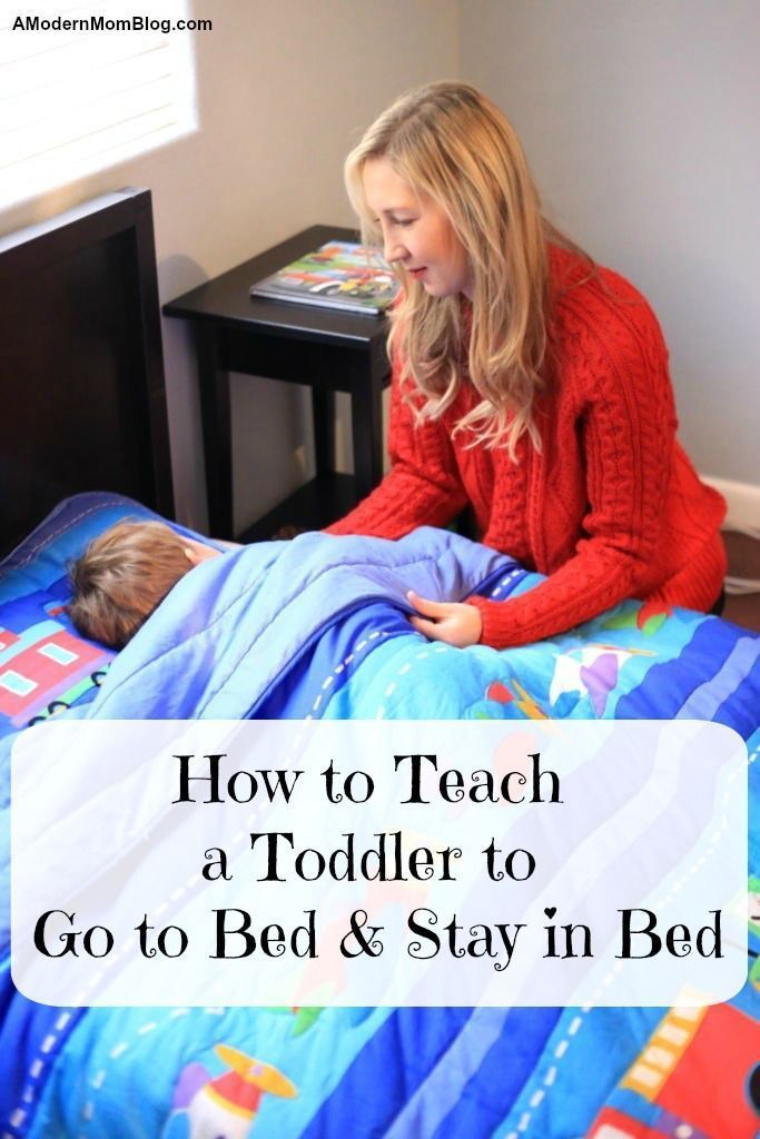 How To Easily Put Your Toddler To Bed And Have Your Child Stay In
