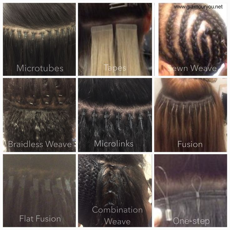 142 best my work multicultural hair extensions weaves dmv area types of hair extensions chart the different installation methods at glamouryou pmusecretfo Gallery