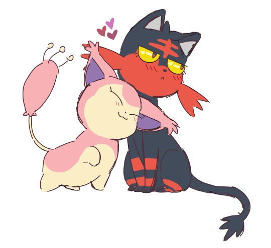 "sylveon: "" kelseesi: "" they love each other "" I LOVE THIS "" Kitty pokemon FOREVER."