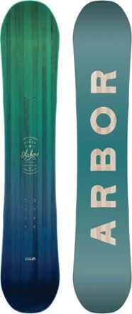 The Arbor Ethos Rocker is a well-made, entry-level snowboard for women who want to get better and go beyond. This is the season and the board to elevate your skills and shred like never before. Available at REI, 100% Satisfaction Guaranteed.