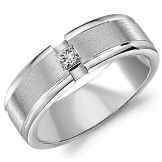 Crown Ring - Collections Wedding Bands Diamond Bands Wb 9262 M10