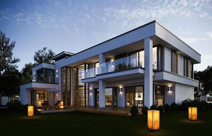 projekt domu Willa Floryda WAH1685