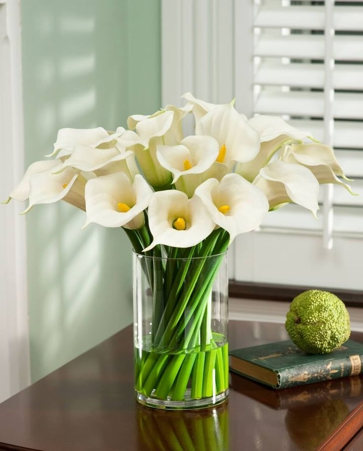 Artificial Flowers In Vase With Fake Water Australia